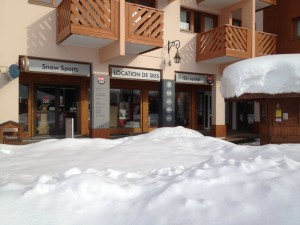 Location ski les Menuires