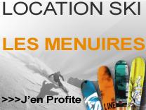 Location ski Les Ménuires